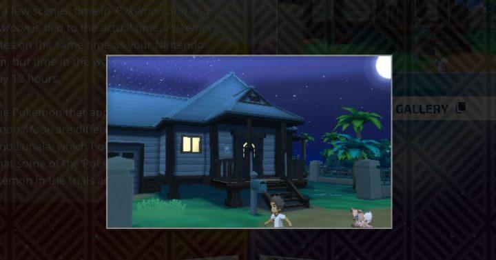 Pokemon sun and moon time