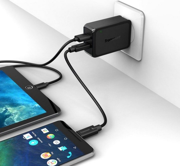 Tronsmart Dual Quick Charge and Type-C Charger