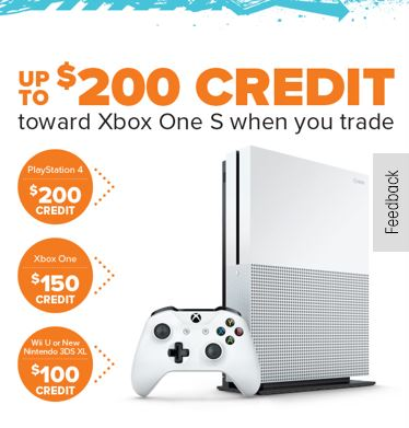 Xbox One S purchase