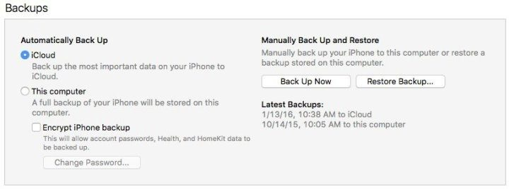 Make sure you have a backup before you start the iOS 10.3.3 downgrade to iOS 10.3.2.