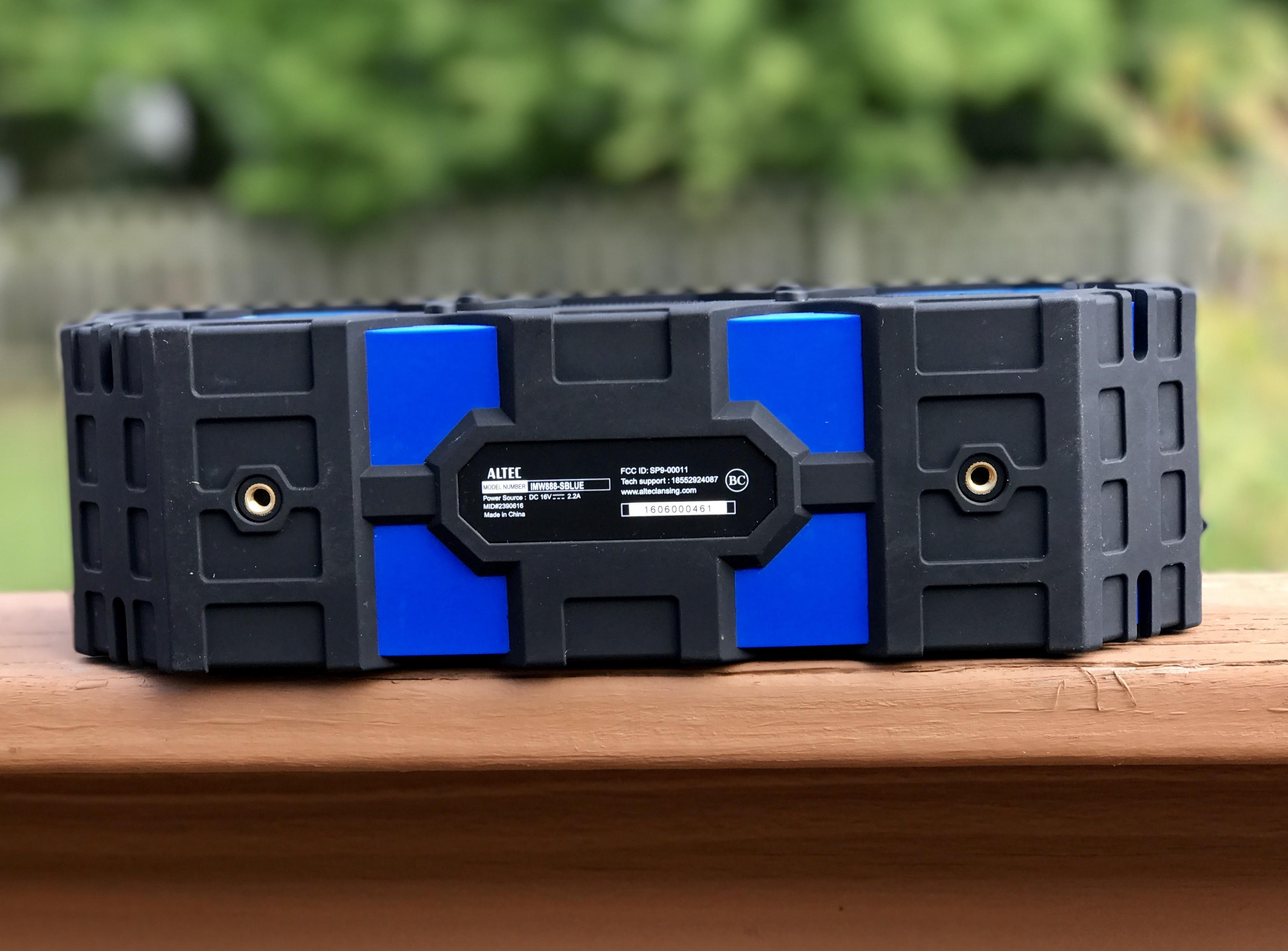Super Life Jacket Imw888-sblue Portable Wireless Speaker Altec Lansing blue Latest Technology