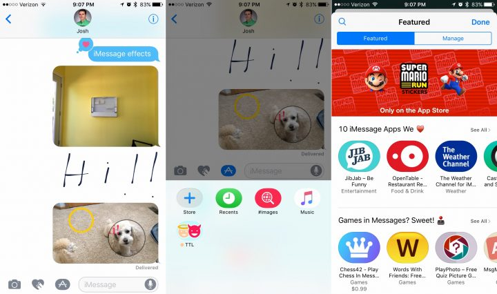 How to Install iMessage apps on iOS 10.