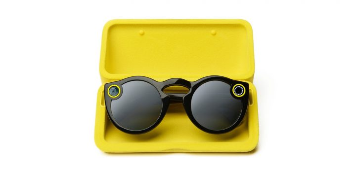 Protect and charge your Snapchat Spectacles.