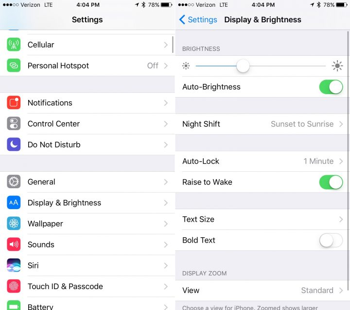 Turn off annoying iOS 10 features