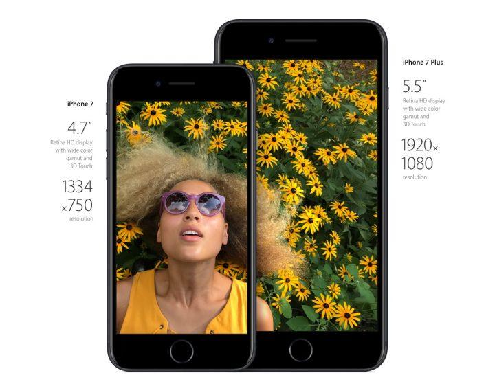 iPhone 7 contra iPhone 7 Plus