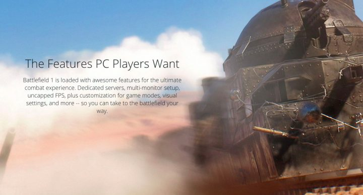 Battlefield 1 PC Requirements