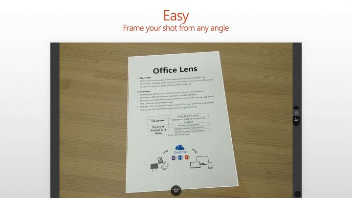 Scan Paperwork and Documents
