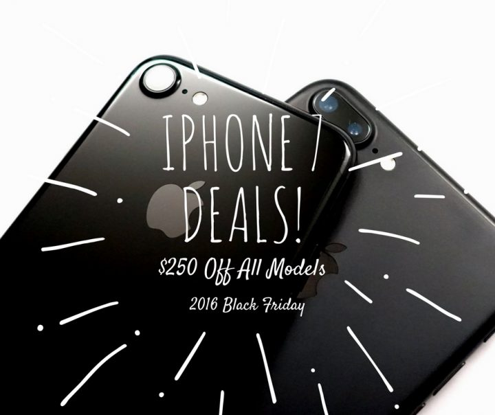 Best iPhone Black Friday 2016 Deals