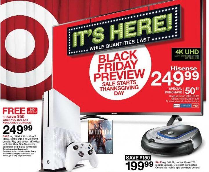 Target Black Friday 2016 Ad