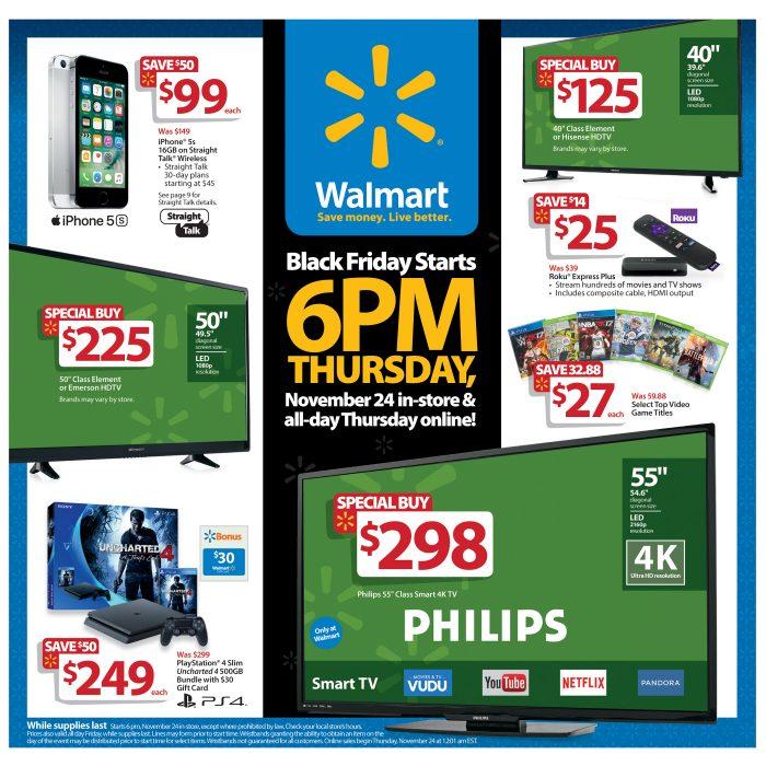 Walmart Black Friday 2016 Doorbusters