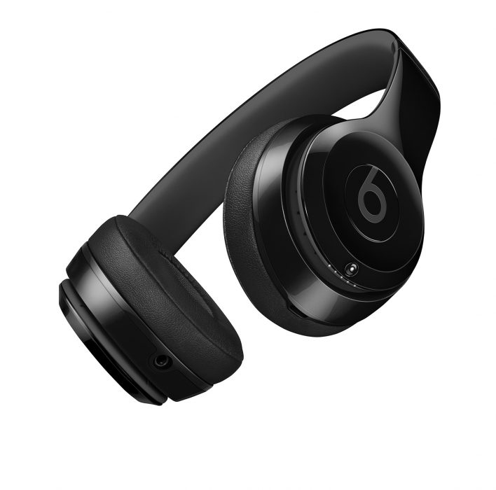 Beats Solo 3 Headphones in Gloss Black