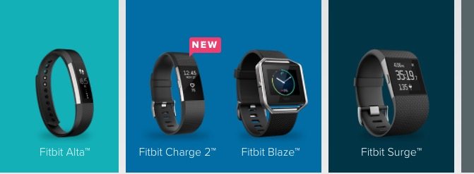 There are five models in our best fitbit Black Friday 2016 deal roundup, but four main deals.