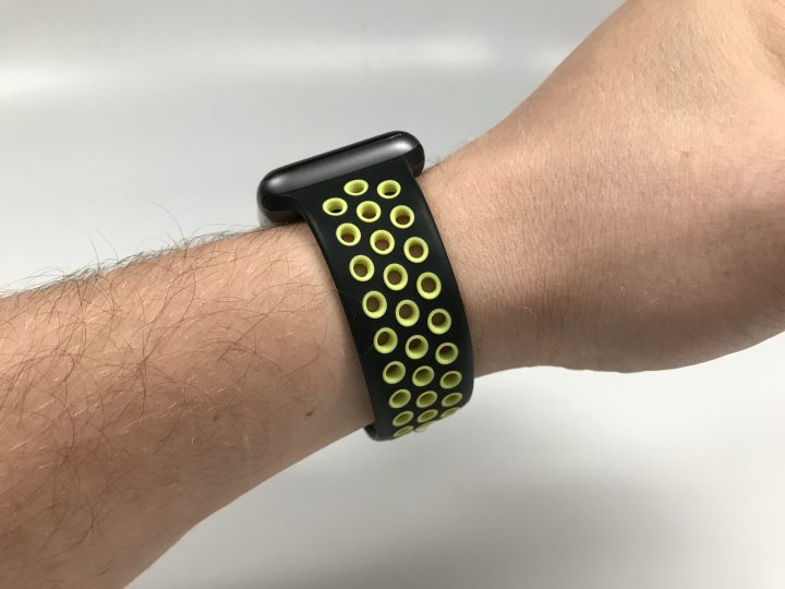 This is an awesome Apple Watch Nike+ watch band replacement.