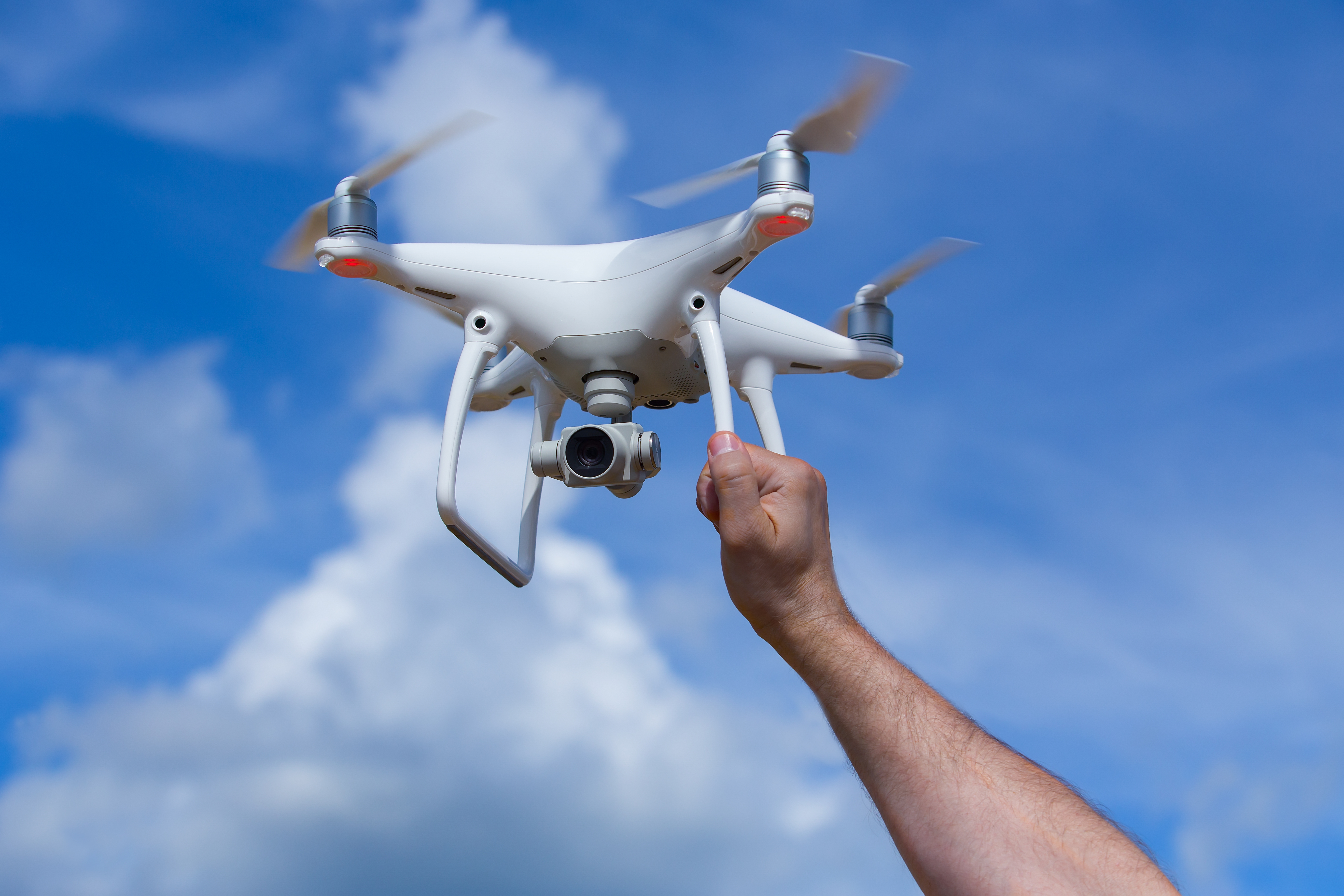 Practice your drone skills in a safe setting before you try anything fancy.