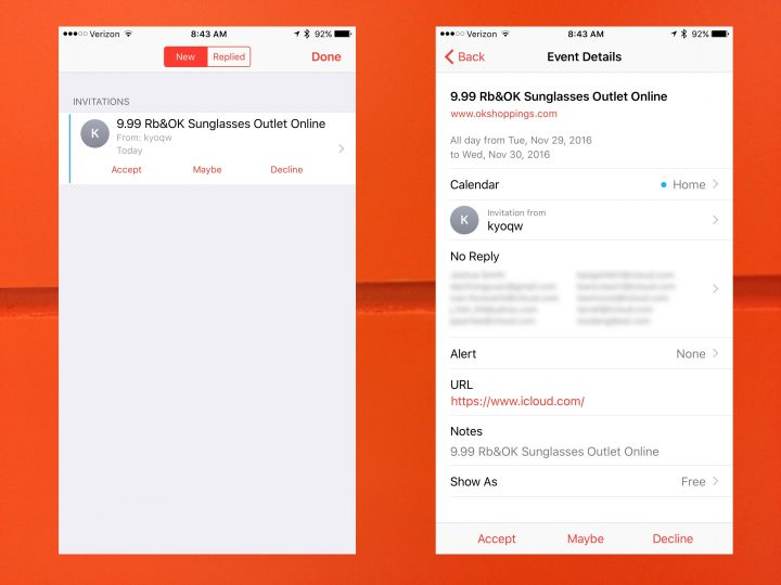 Put a stop to iCloud spam on iPhone, iPad and Mac.