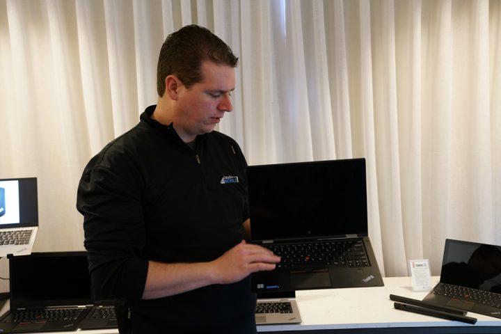 The Lenovo ThinkPad X1 carbon