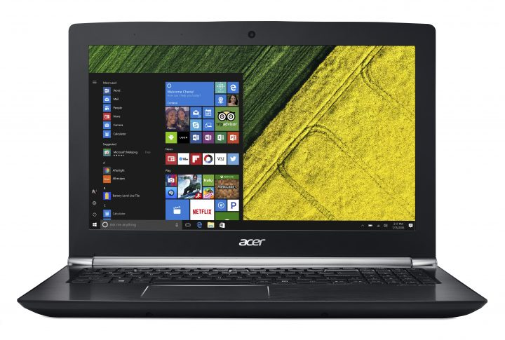 The Acer Aspire Nitro includes eye tracking.