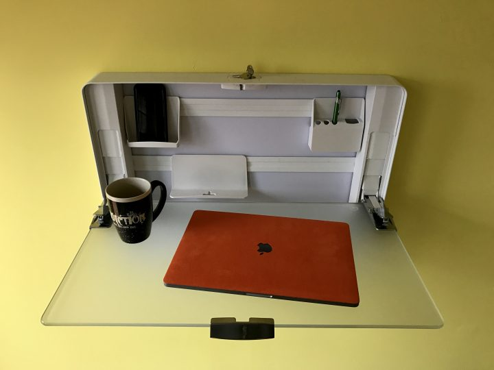 This is the best slim sit-stand desk we've found.