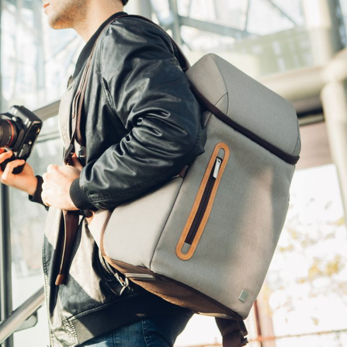 The Moshi Arcus backpack is ready to go wherever you are and keep all of your gear safe.