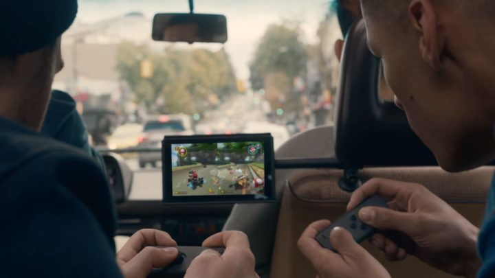 Let's You Take on Your Friends That Don't Have a Nintendo Switch of Their Own