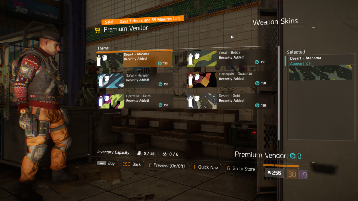 the division store