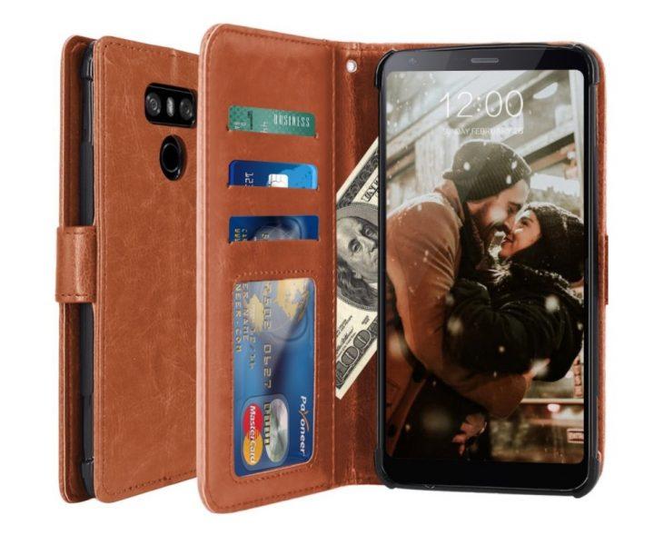 LK Luxury PU Leather Wallet Case