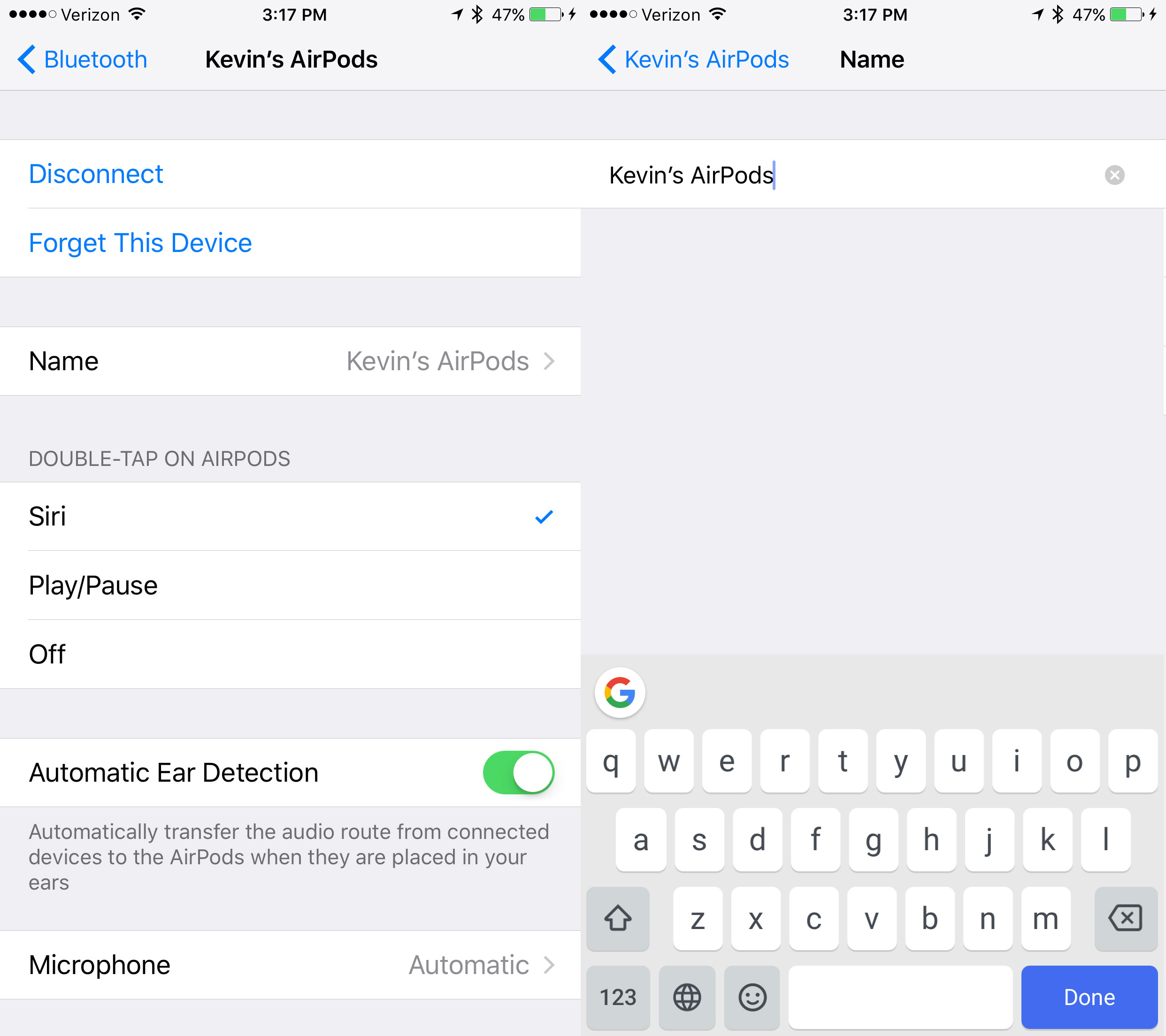 change-airpods-name-in-bluetooth-settings