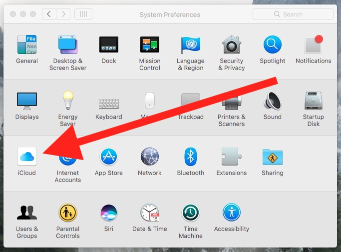 macos 10 system preferences