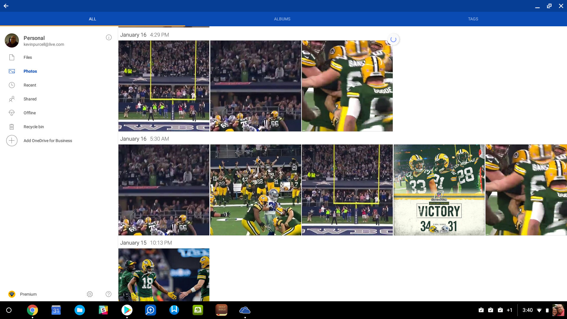 onedrive for android - android apps for chromeos