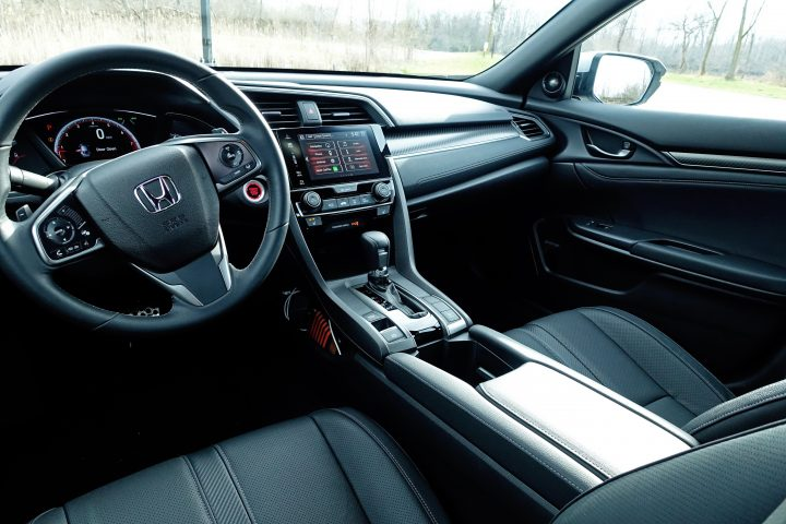Inside, you'll find a comfortable and spacious interior.