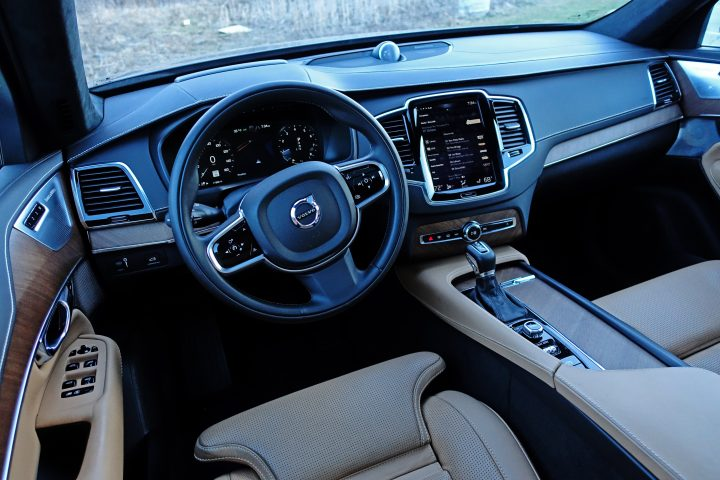 The 2017 Volvo XC90 interior is incredibly luxurious.