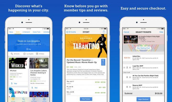 Best App to Save Money on Tickets