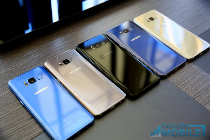 Pick Your Galaxy S8 Color