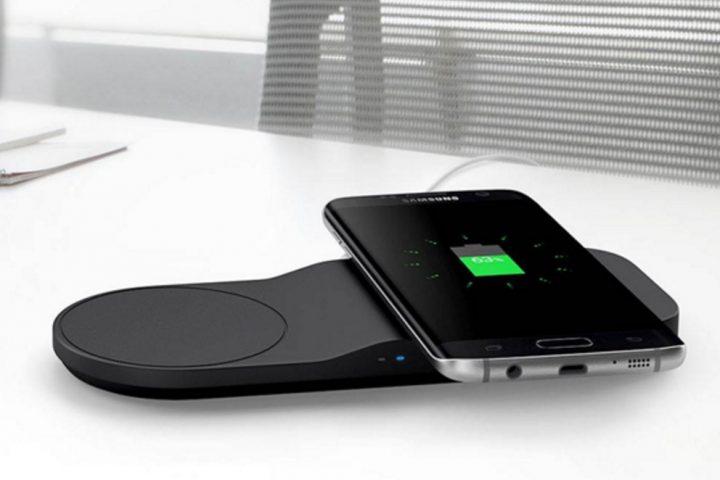 Dual Wireless Charging Tray (Pad)