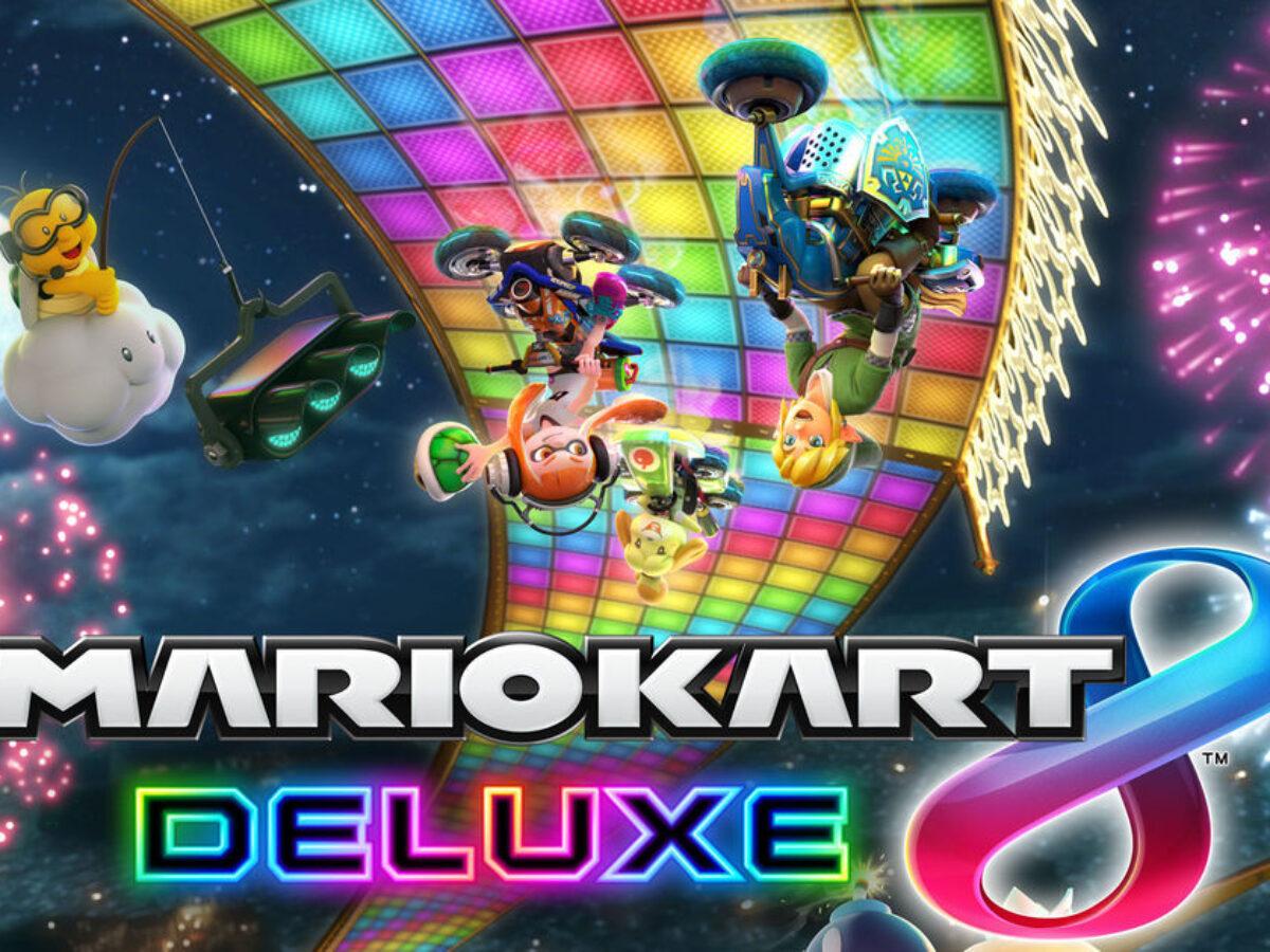 Mario Kart 8 Deluxe Release Date Features Details