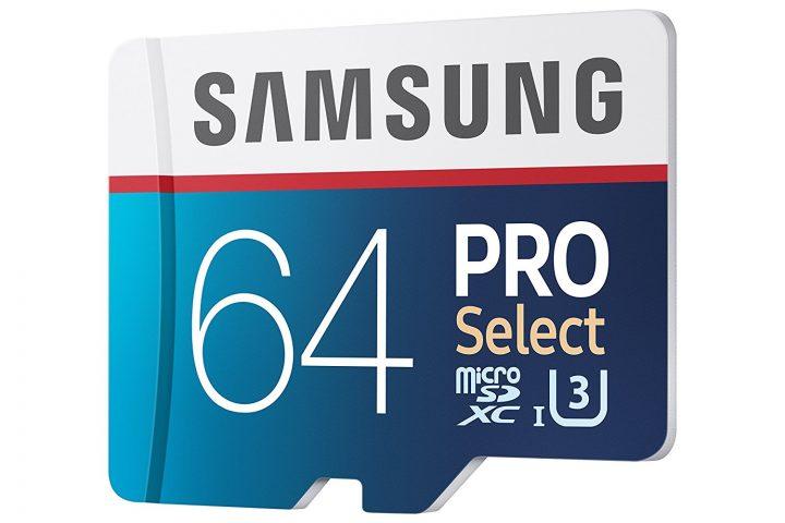 Samsung 64GB Pro Select Micro SDXC Memory Card - $43.83