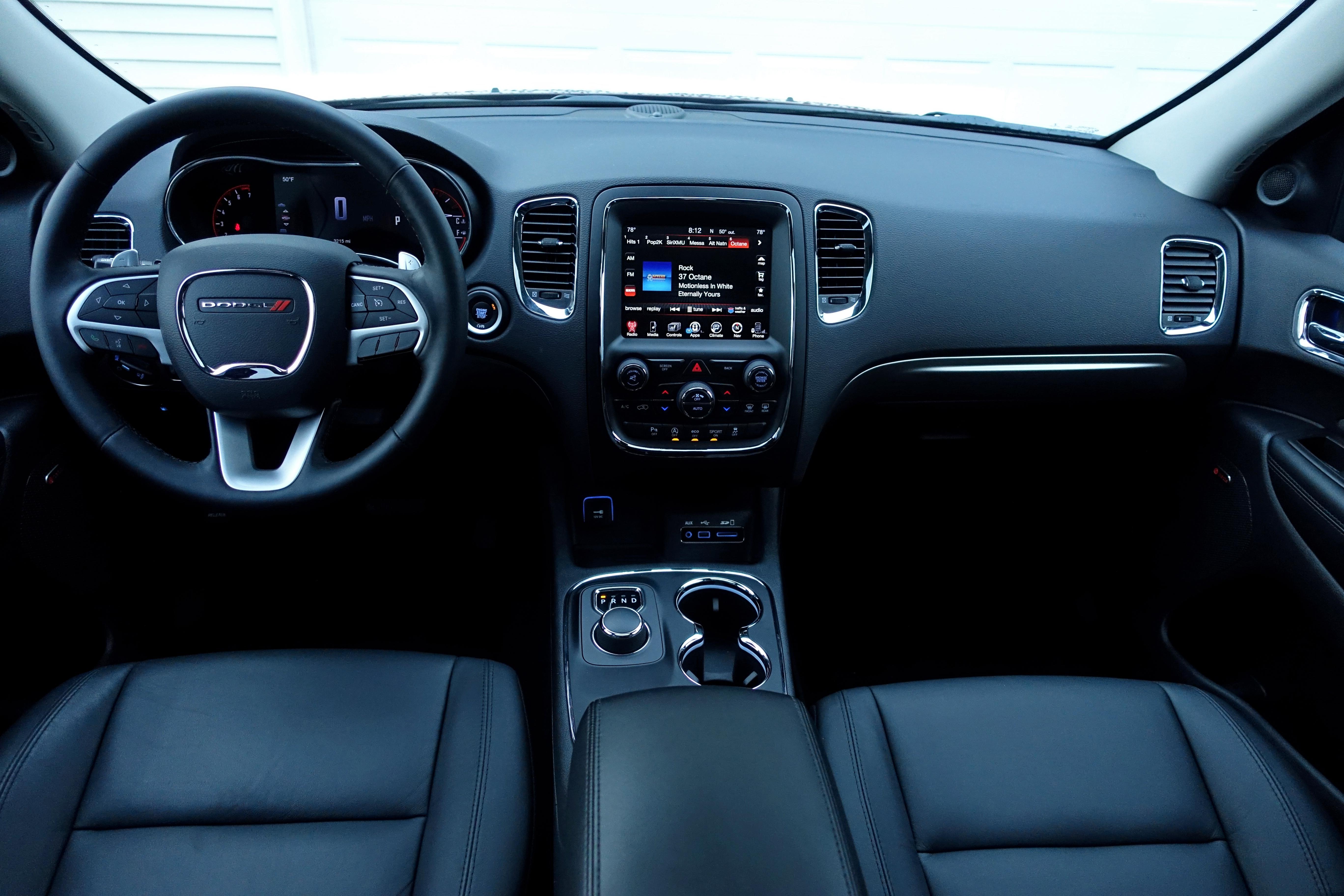 2017 Dodge Durango Rt Interior