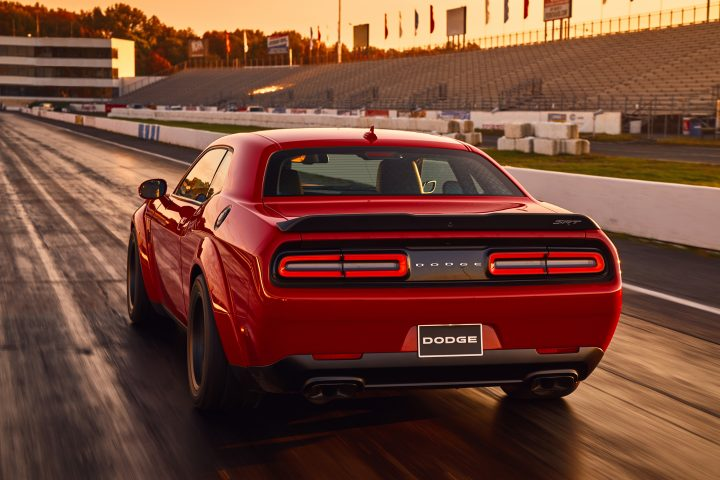 The 2018 Dodge Challenger SRT Demon release date is set for fall.