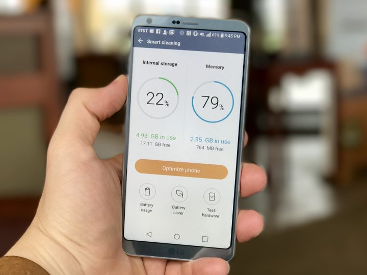 How to fix LG G6 lag and slow performance.