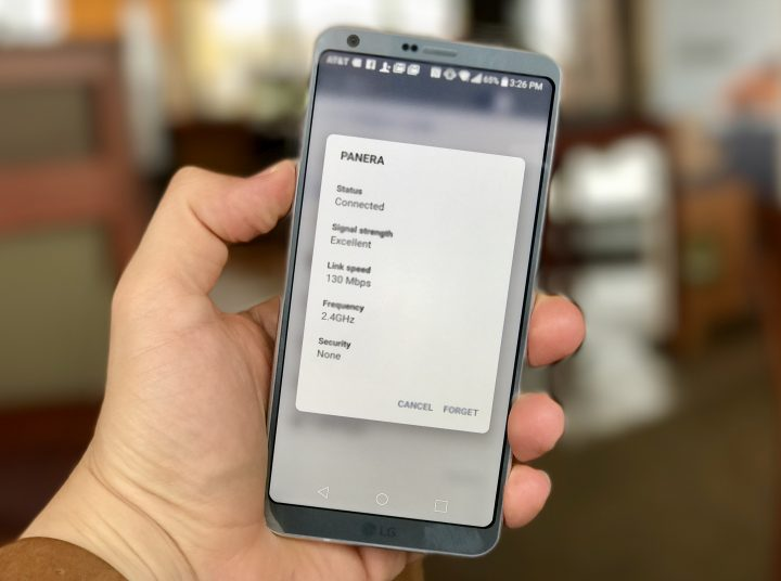 How to fix LG G6 WiFi problems.
