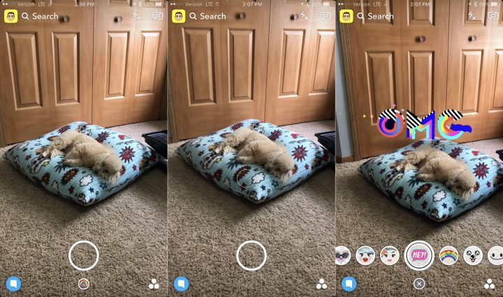 Using 3D effects with the new Snapchat World Lenses is easy.
