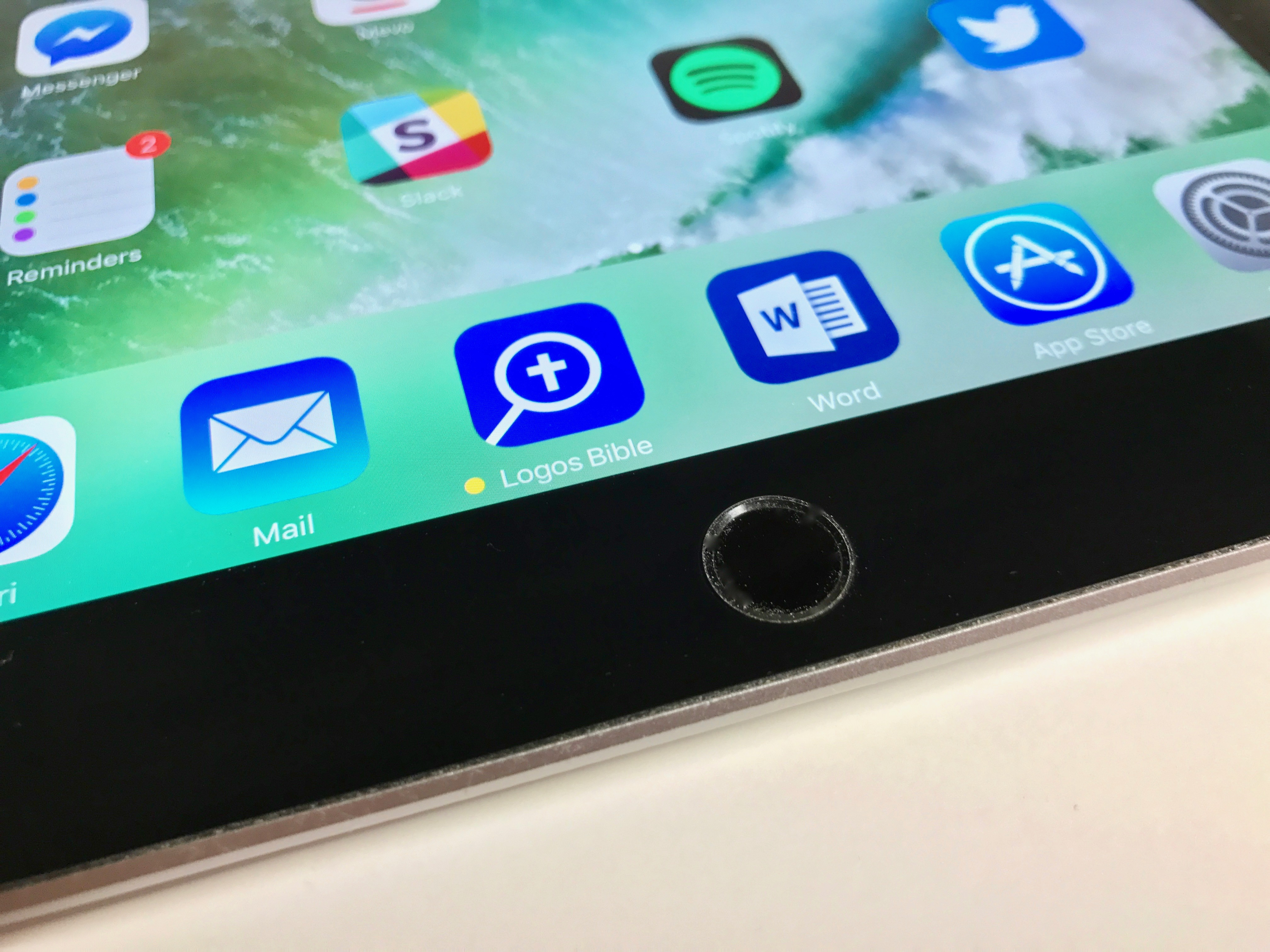 new 2017 ipad home button