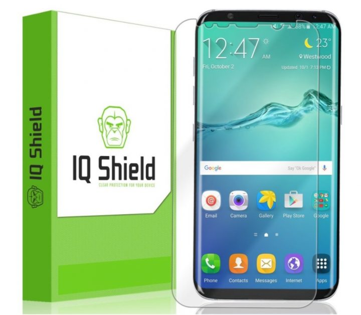 IQ Shield Liquid SmartSkin for S8+