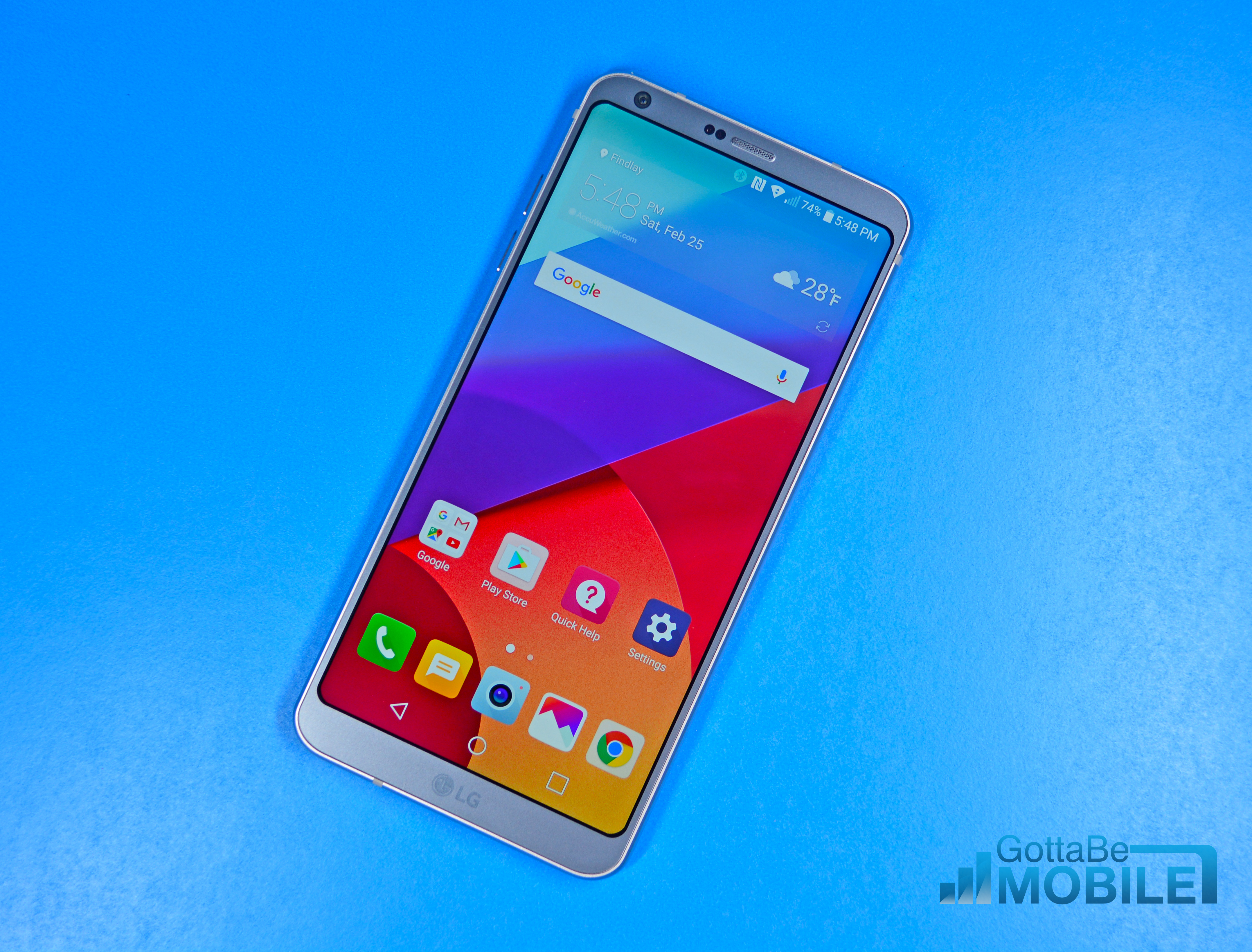 Curved corners look great and help protect the display if you drop the phone.