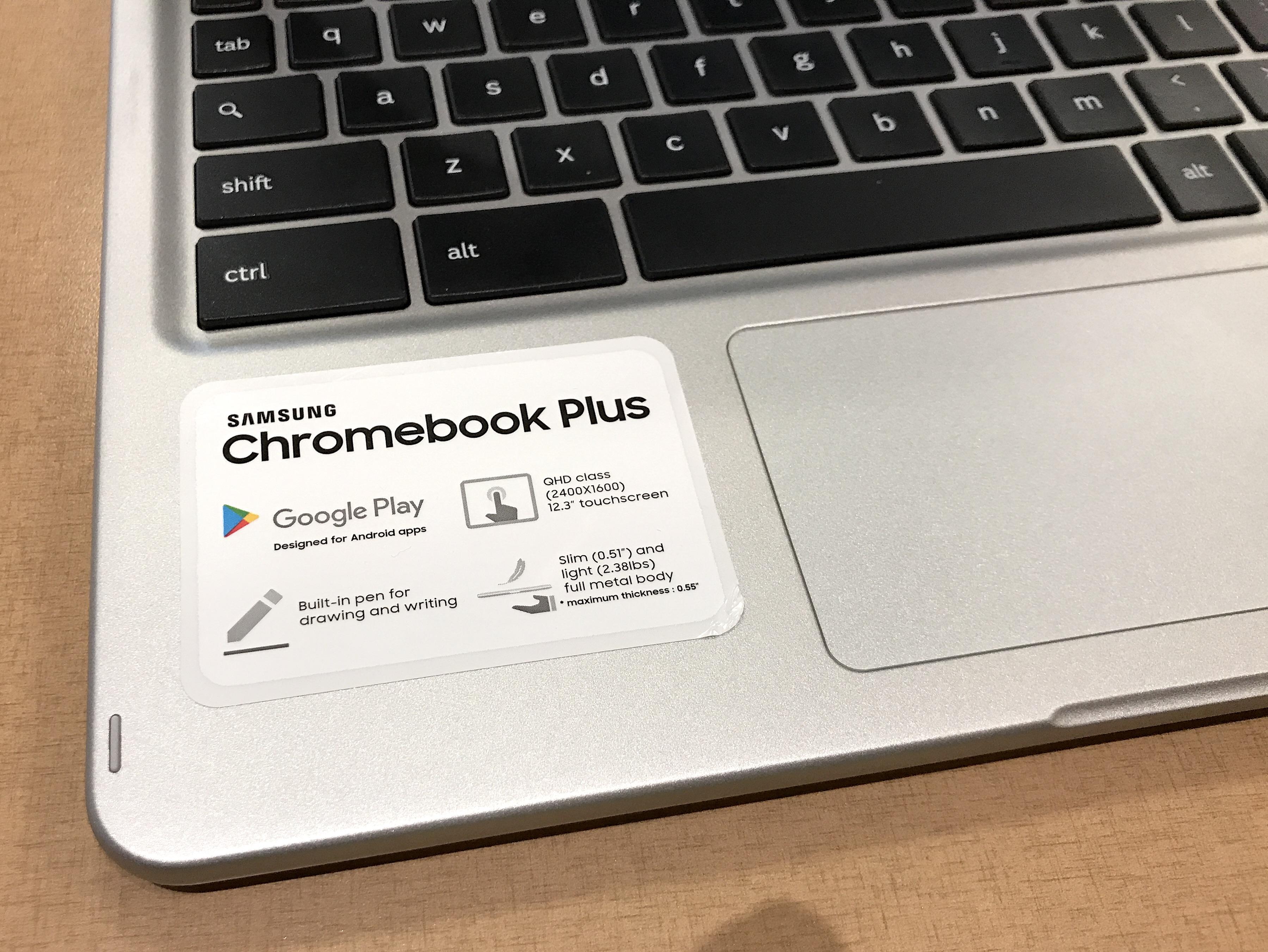 Samsung Chromebook Plus specs