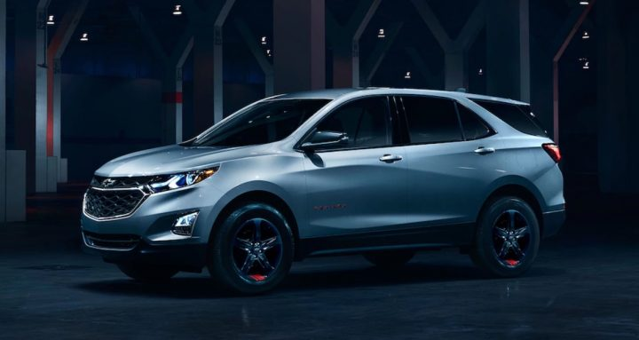 This is the 2018 Chevy Equinox Redline special edition.