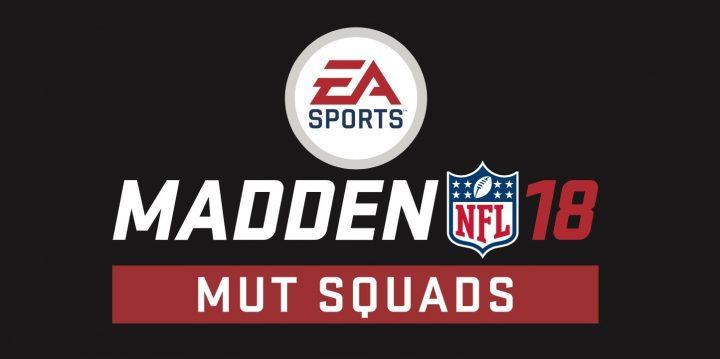 Madden 18 MUT Squads