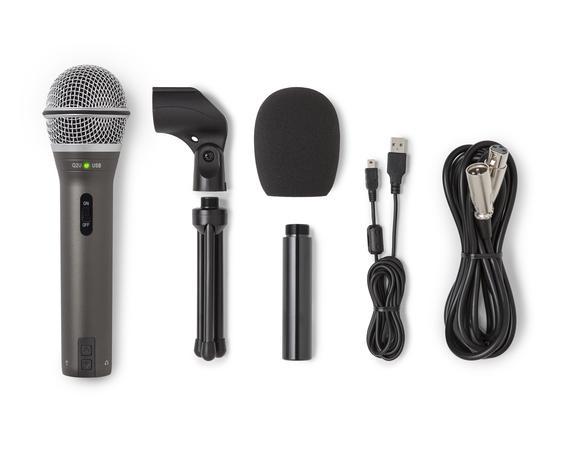 Samson Q2U Recording and Podcasting Pack accessories