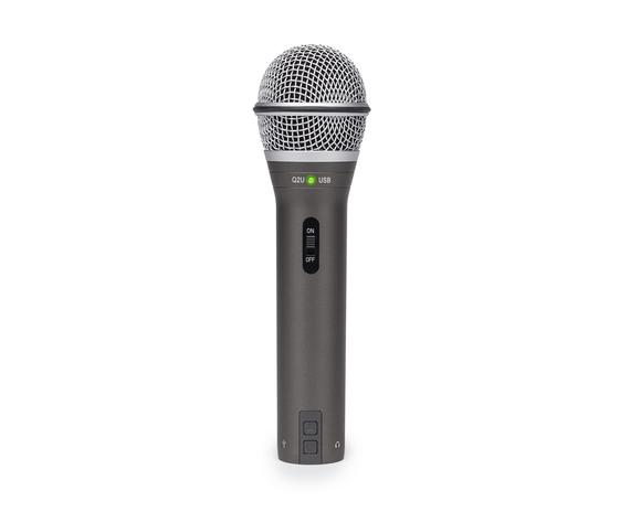 Samson Q2U Recording and Podcasting Pack mic only