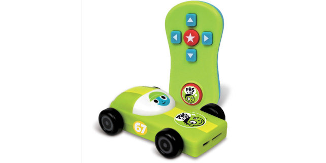 PBS Plug & Play: A safe streaming stick for kids looks like a race car